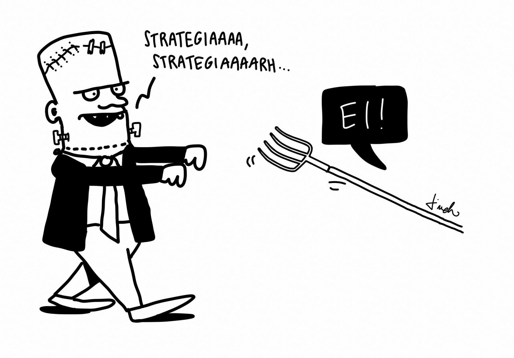 Miksi kuvitettu strategia?